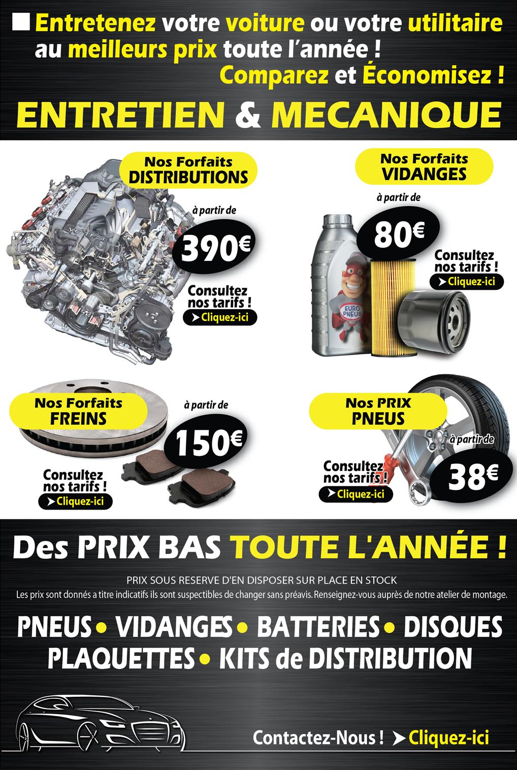 Europneus romans sur is re 26100 dr me votre for Garage mecanique auto pas cher